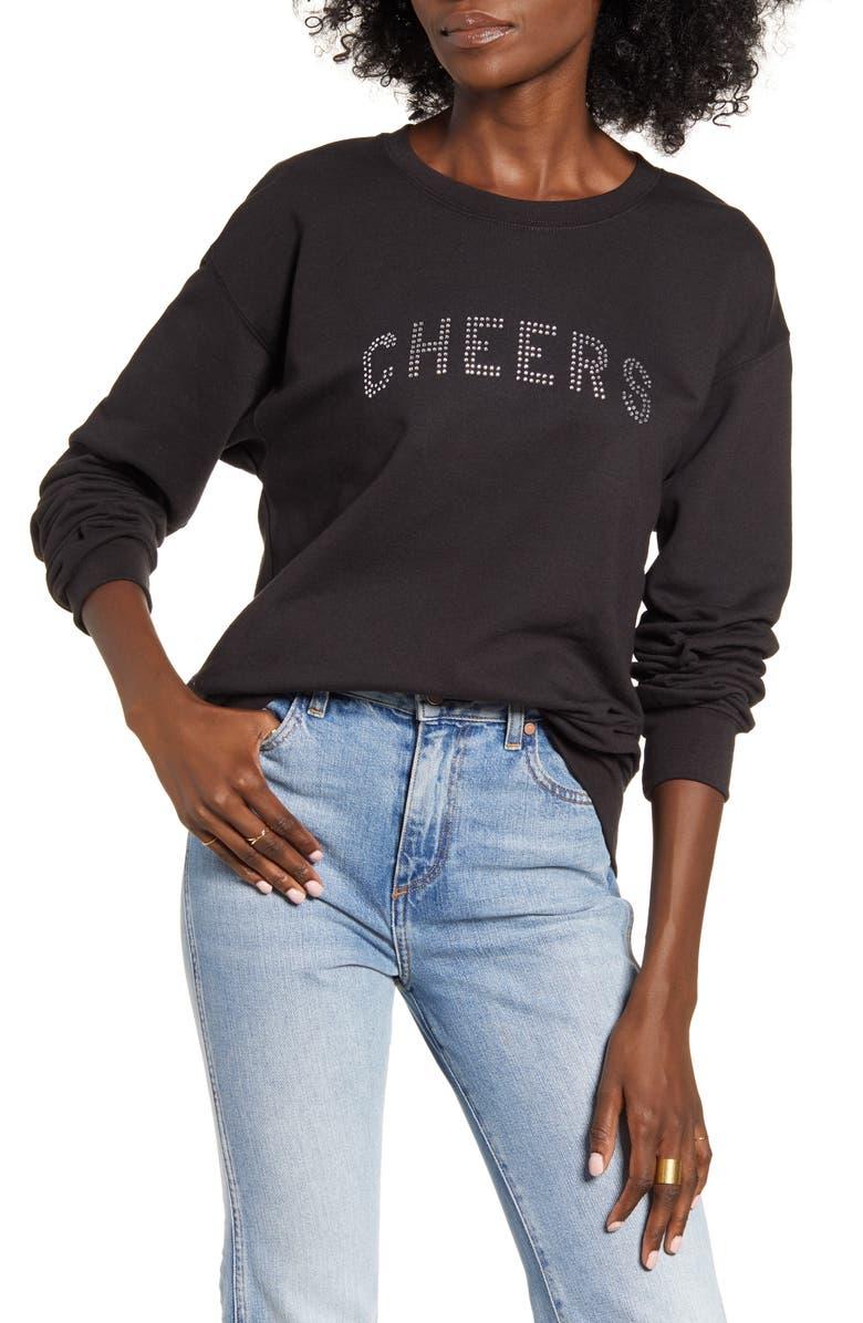SUB_URBAN RIOT Cheers Willow Sweatshirt, Main, color, 001