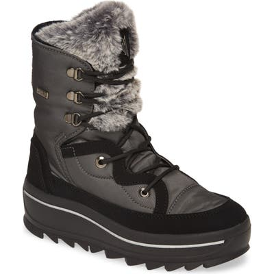 Pajar Tacey 2.0 Waterproof Boot With Faux Fur Lining, Grey