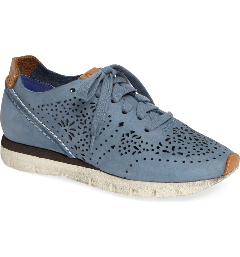 OTBT Khora Sneaker, Main, color, ELECTRIC BLUE LEATHER