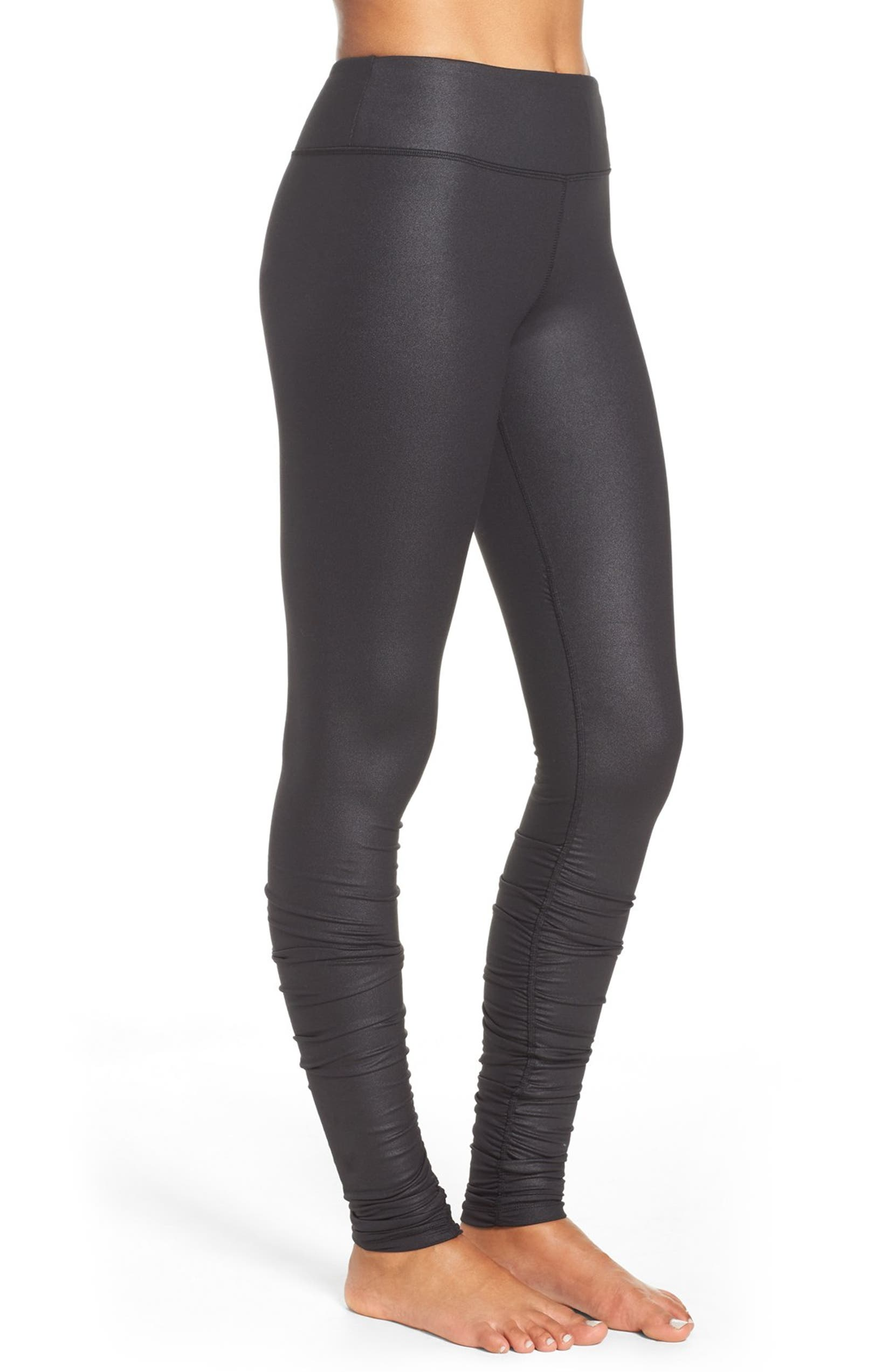 ab2563cde2 Alo Idol Ruched Leggings | Nordstrom