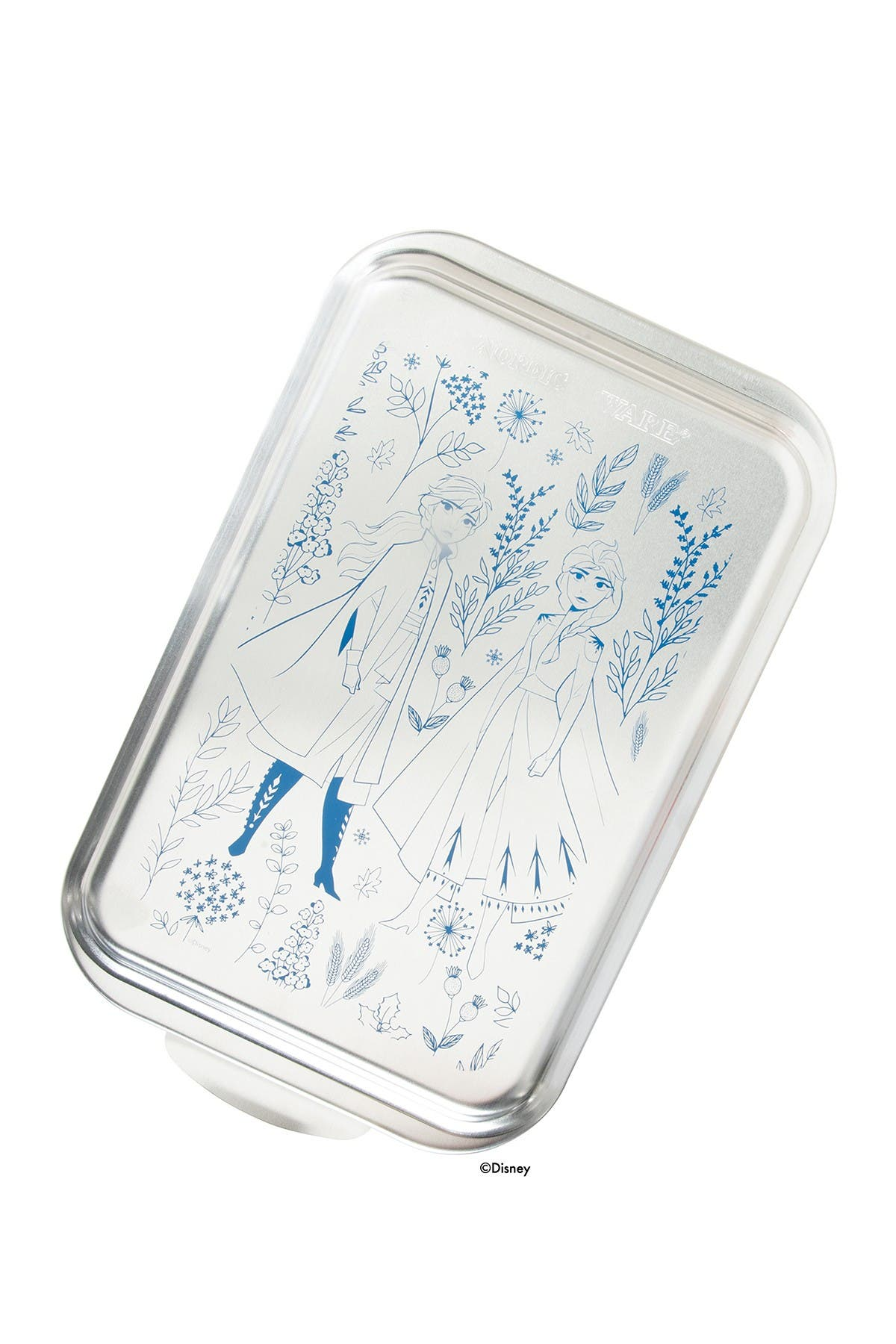 "Image of Nordic Ware Disney Frozen 2- 9""x 13"" Naturals Cake Pan with Metal Lid"