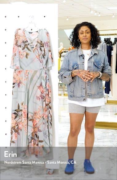 Sierra Maxi Wrap Dress, sales video thumbnail