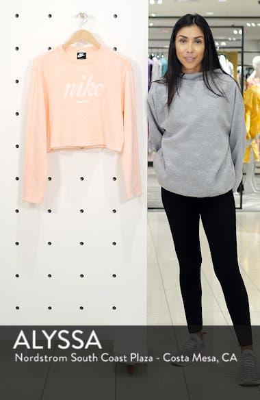 Sportswear Crop Sweatshirt, sales video thumbnail