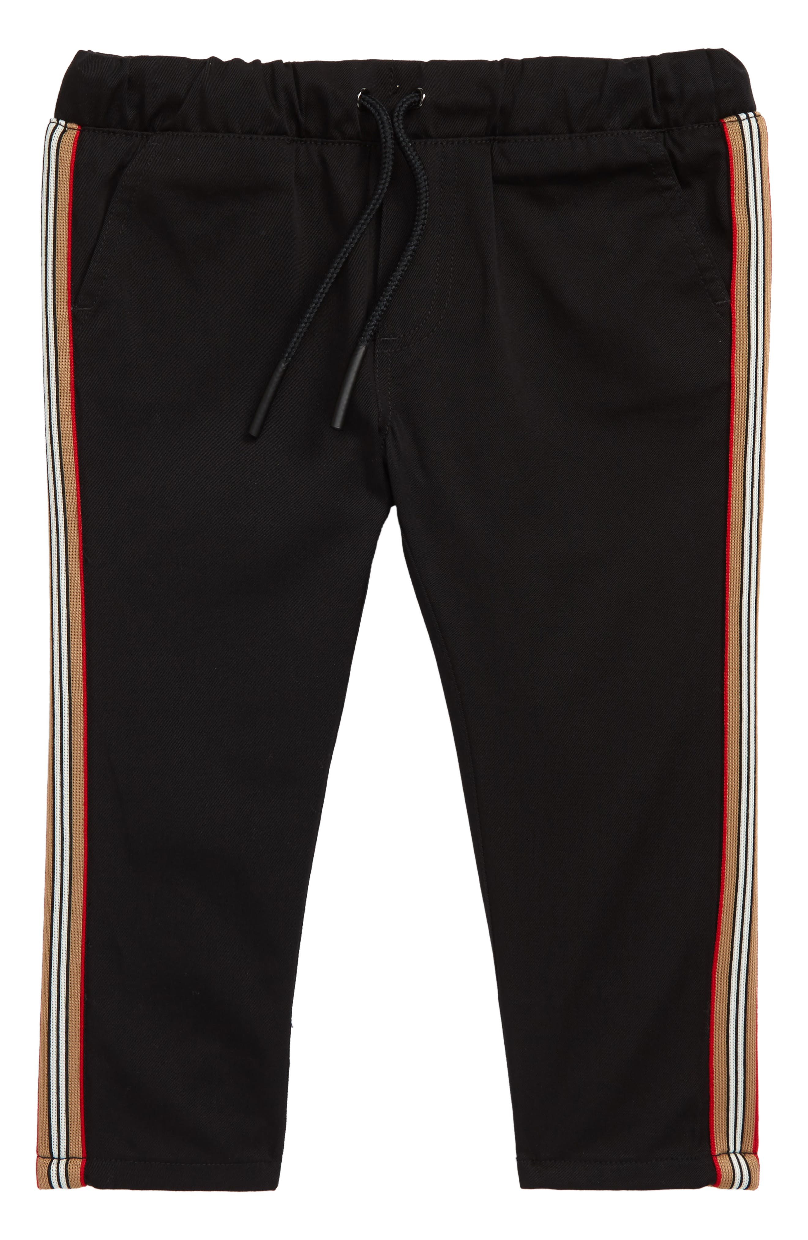 Curran Icon Woven Pants, Main, color, BLACK