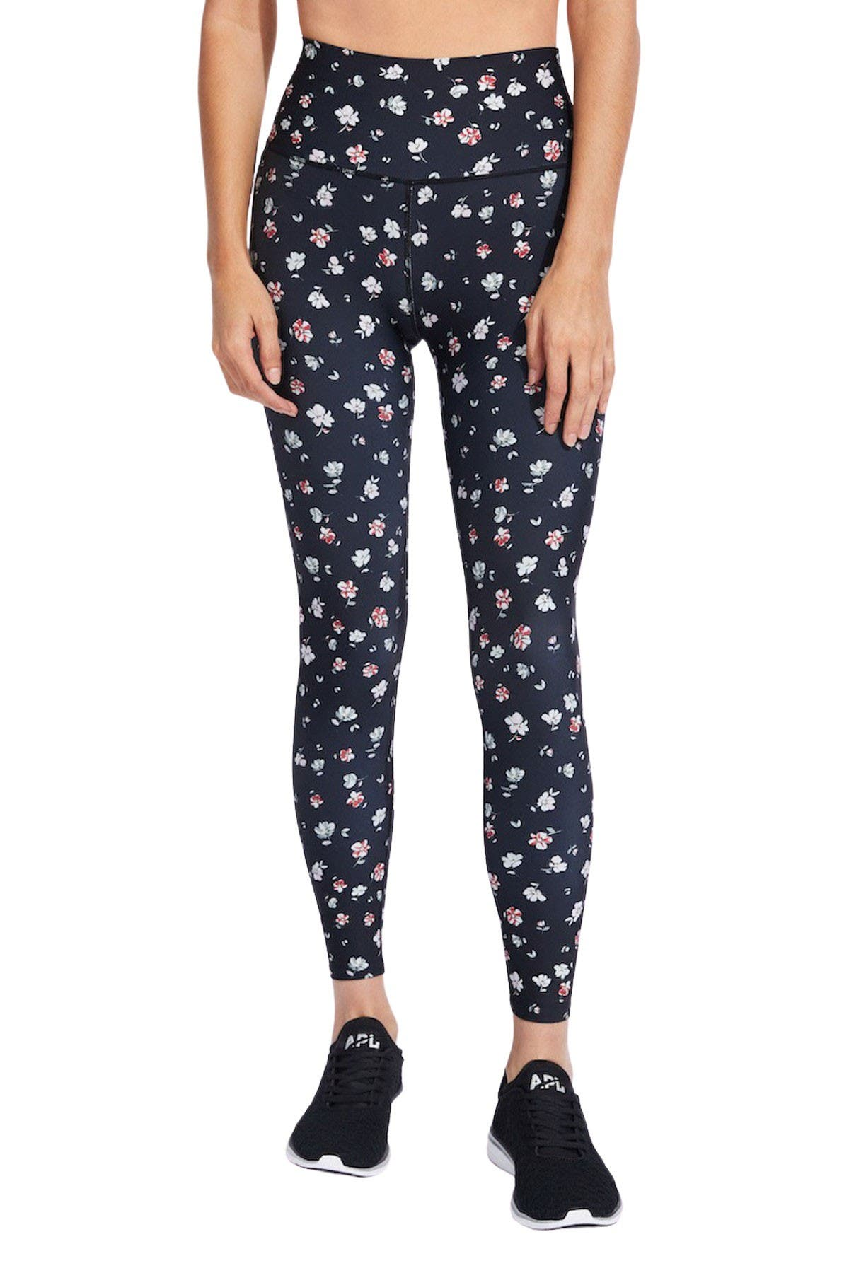 Image of SoulCycle Foldover Waistband Tights