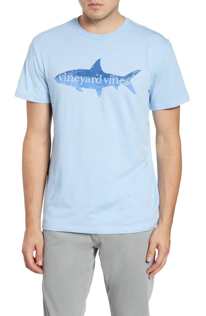 VINEYARD VINES Bonefish High Low Graphic T-Shirt, Main, color, 456