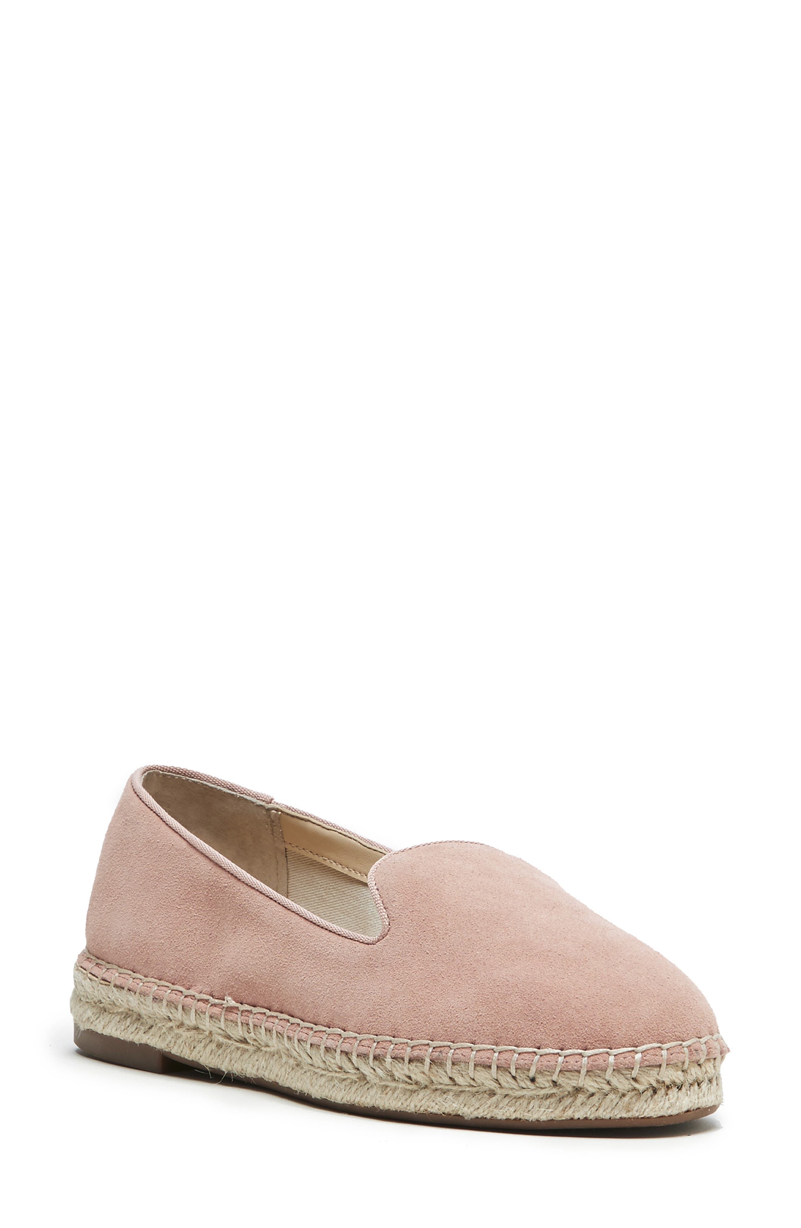 Sole Society Sammah Espadrille Loafer, Pink