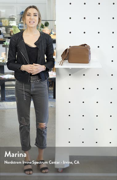 Vincent Leather Crossbody Bag, sales video thumbnail