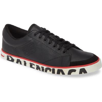 Balenciaga Logo Sole Sneaker, Black