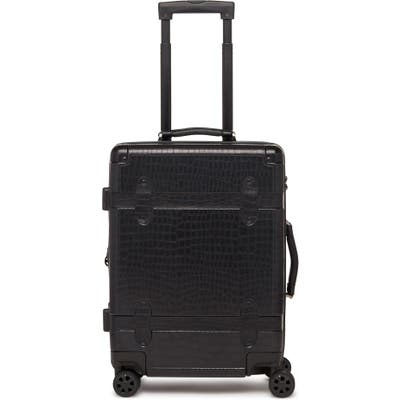 Calpak Trunk 22-Inch Rolling Suitcase - Black
