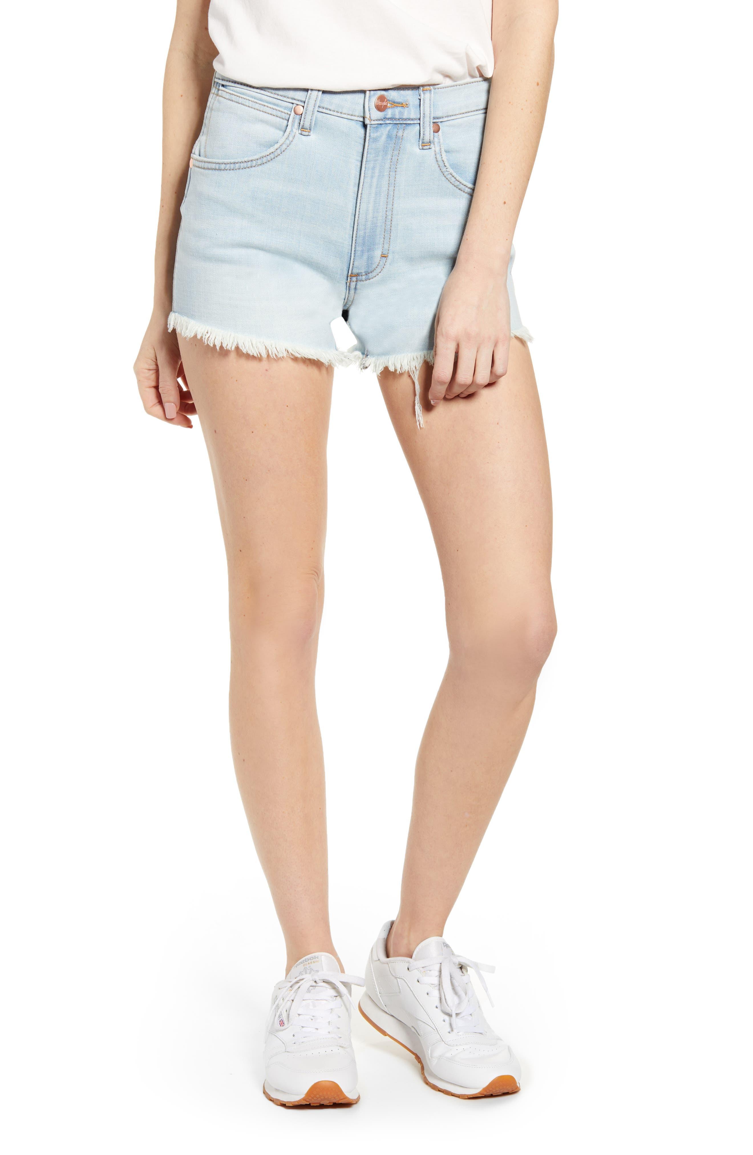Wrangler Shorts Cutoff Denim Shorts