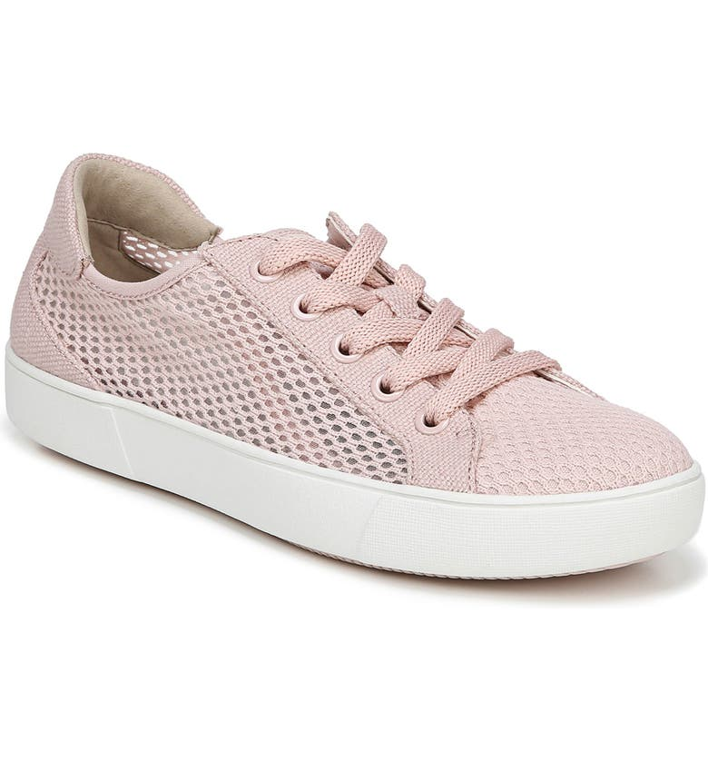 NATURALIZER Morrison III Perforated Sneaker, Main, color, ROSE PINK CANVAS