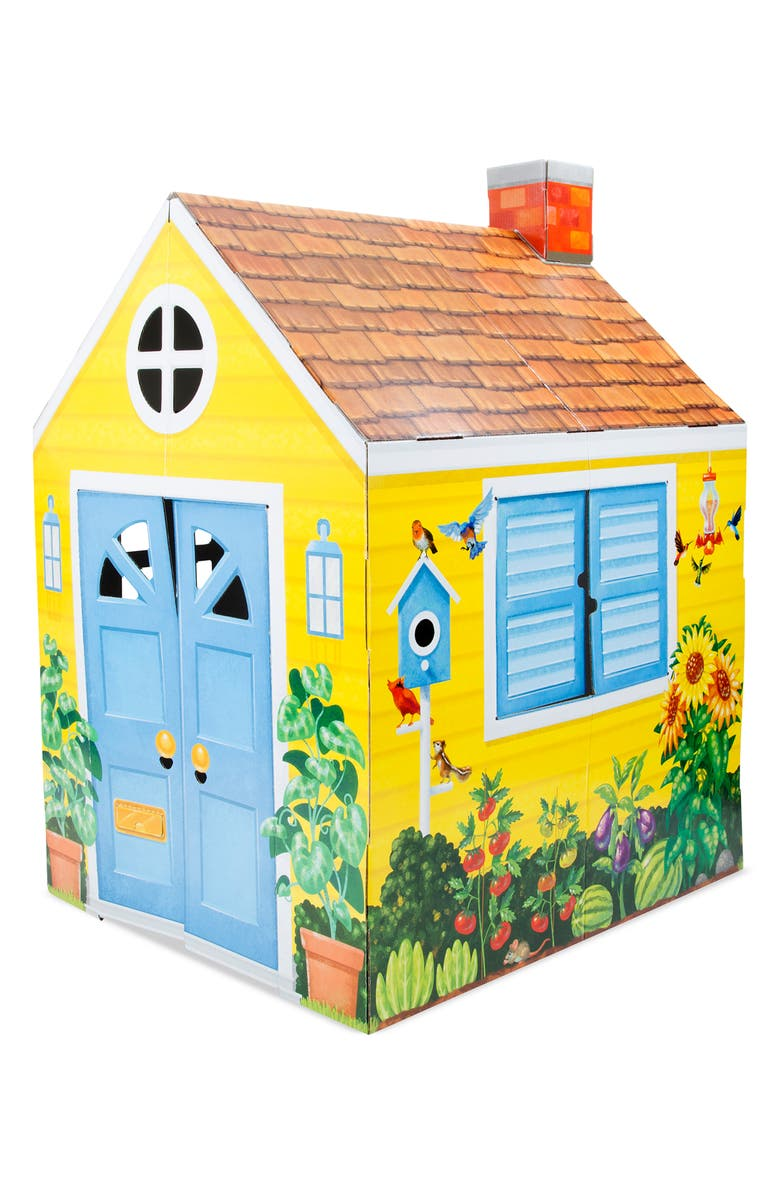 MELISSA & DOUG Let's Play Playhouse & Doghouse Set, Main, color, MULTI