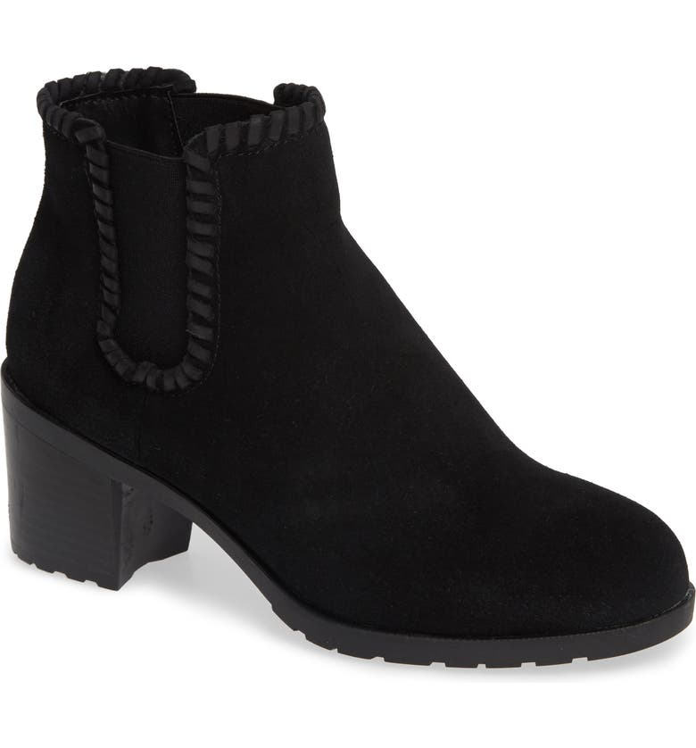 JACK ROGERS Pippa Waterproof Bootie, Main, color, BLACK SUEDE