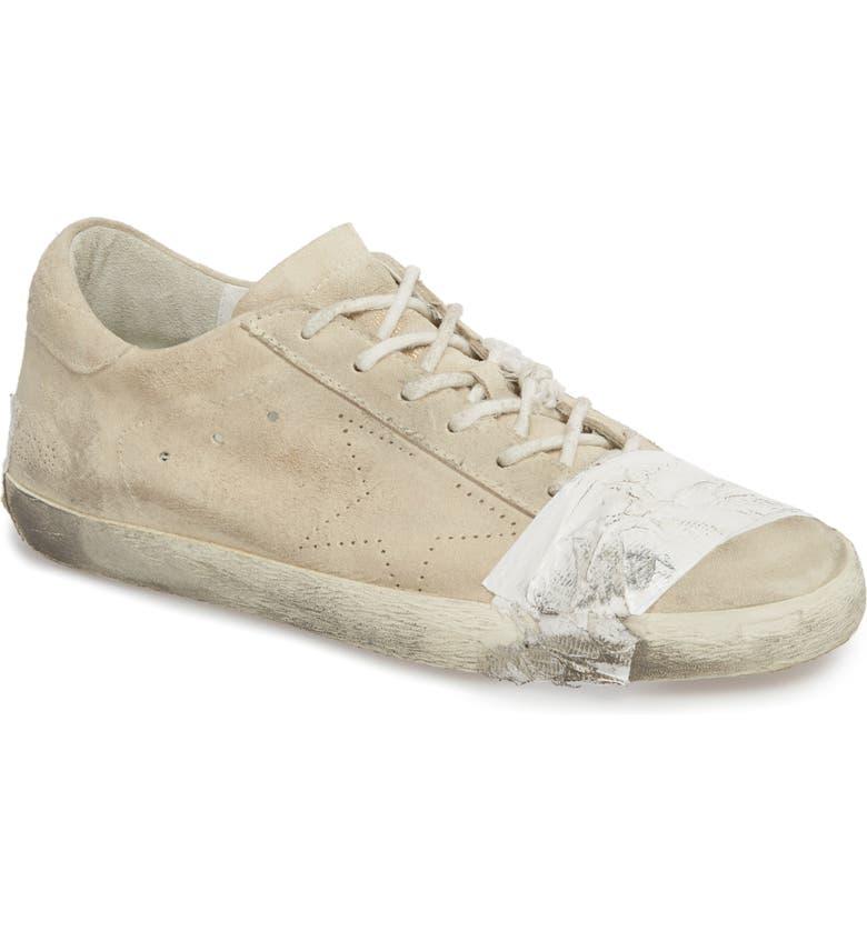 80600b61a Golden Goose Superstar Taped Sneaker (Men) | Nordstrom