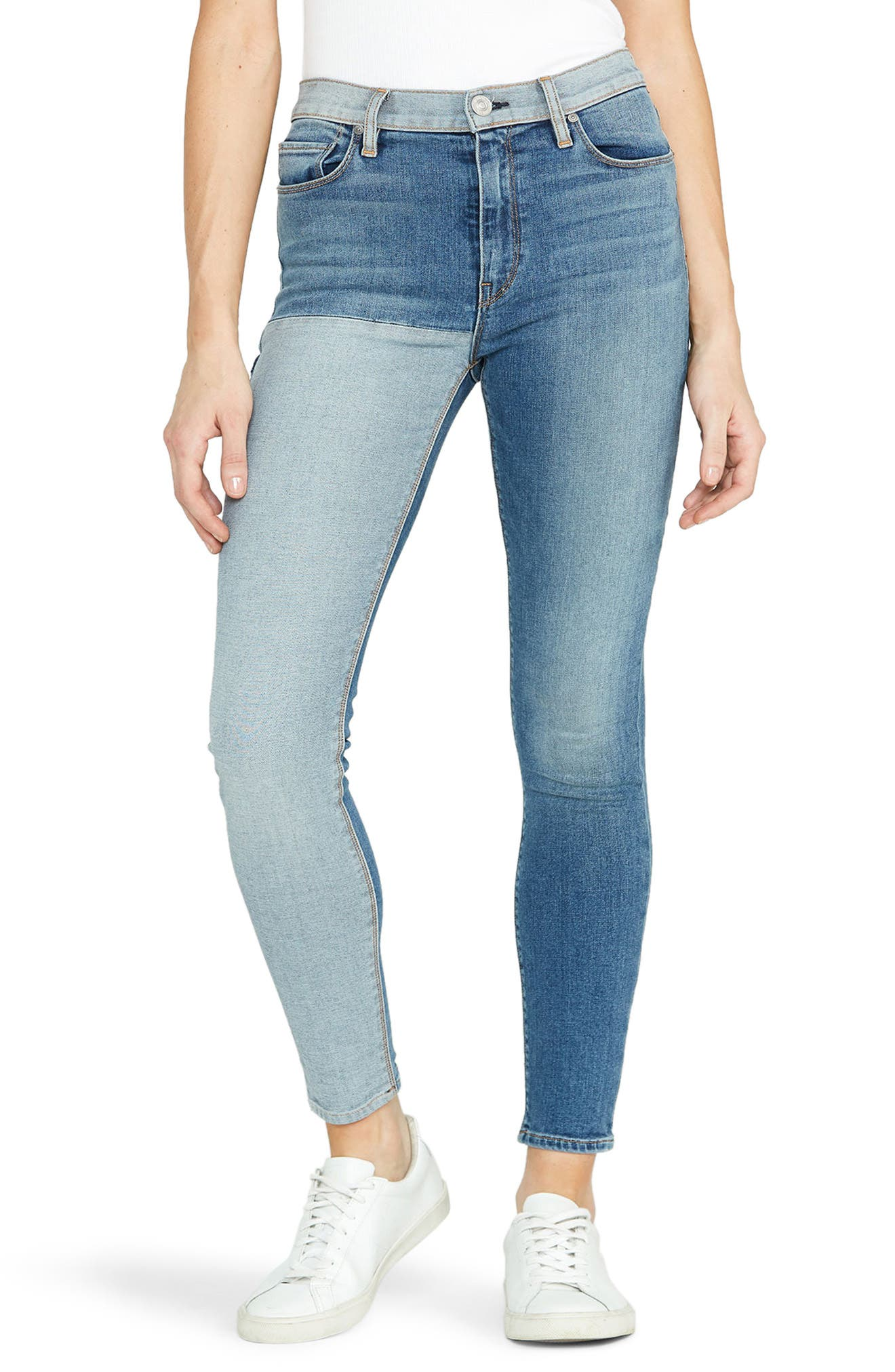 Image of HUDSON Jeans Barbara High Waist Skinny Jeans