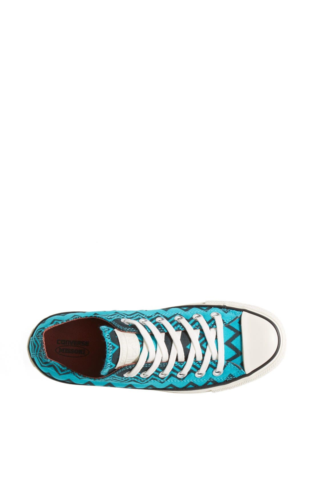,                             x Missoni Chuck Taylor<sup>®</sup> All Star<sup>®</sup> Low Sneaker,                             Alternate thumbnail 10, color,                             446