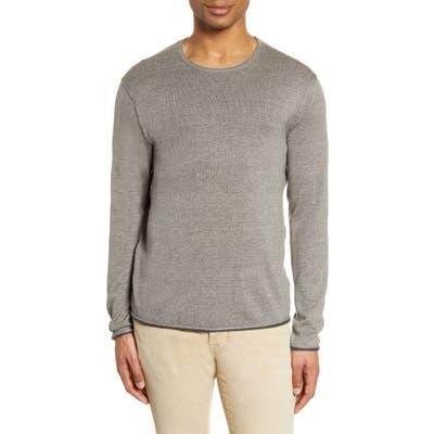 Rag & Bone Trent Crewneck Wool Blend Sweater, Grey