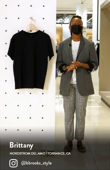 Bacio Oversize Tunic T-Shirt, sales video thumbnail