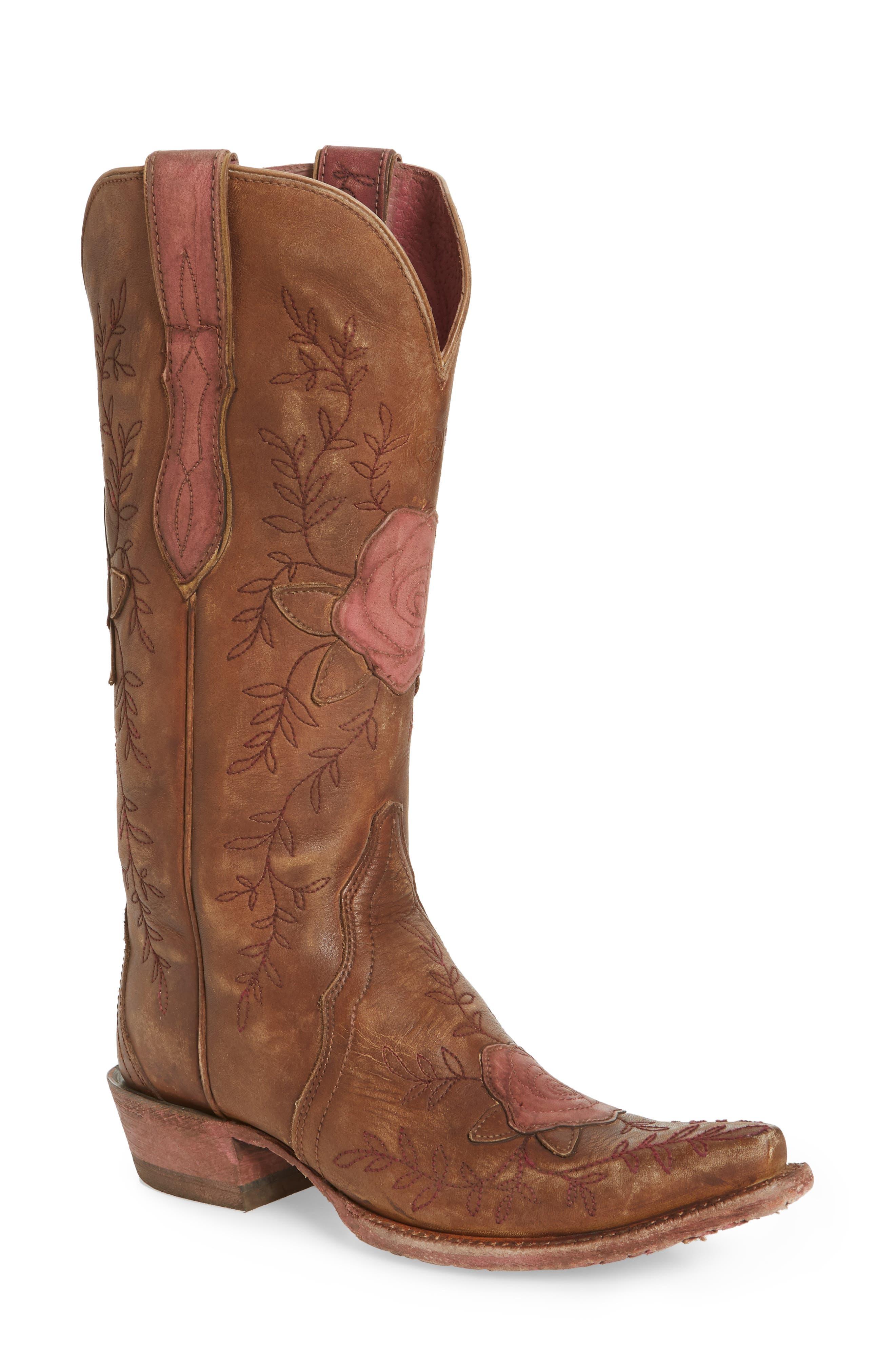 Ariat Rosalind Western Boot- Brown