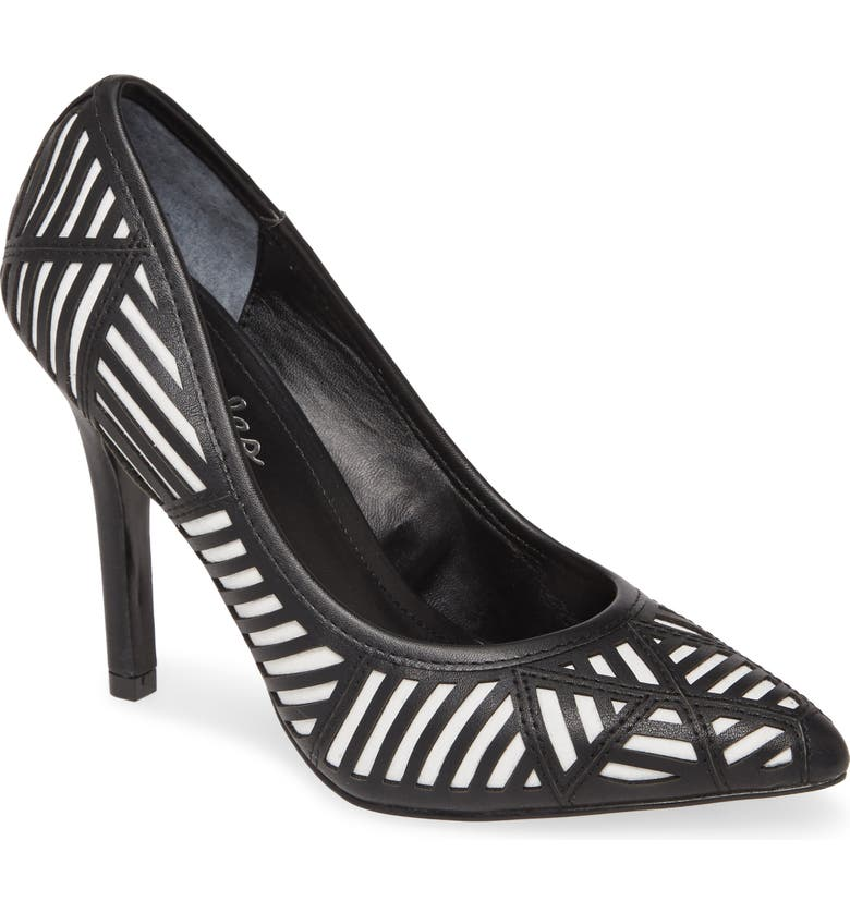 CHARLES BY CHARLES DAVID Mystery Pump, Main, color, BLACK/ WHITE
