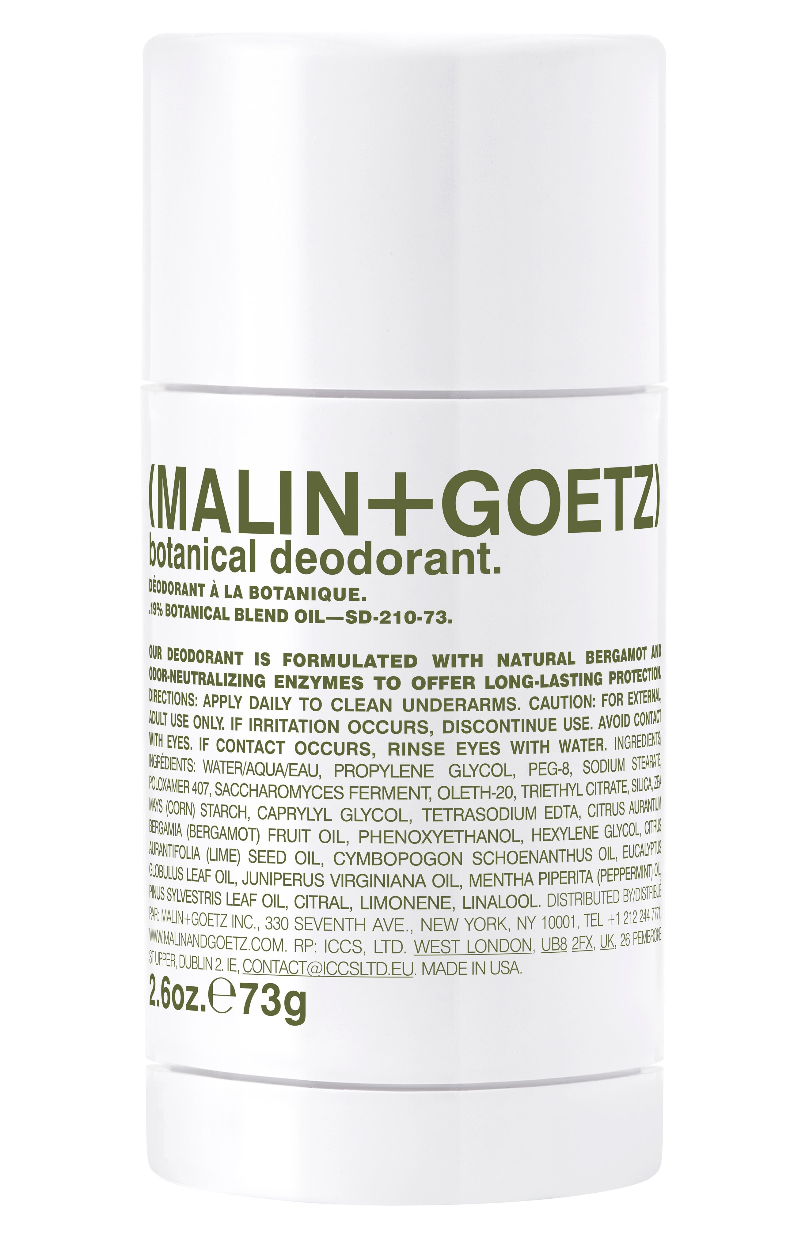 Malin+Goetz Botanical Deodorant