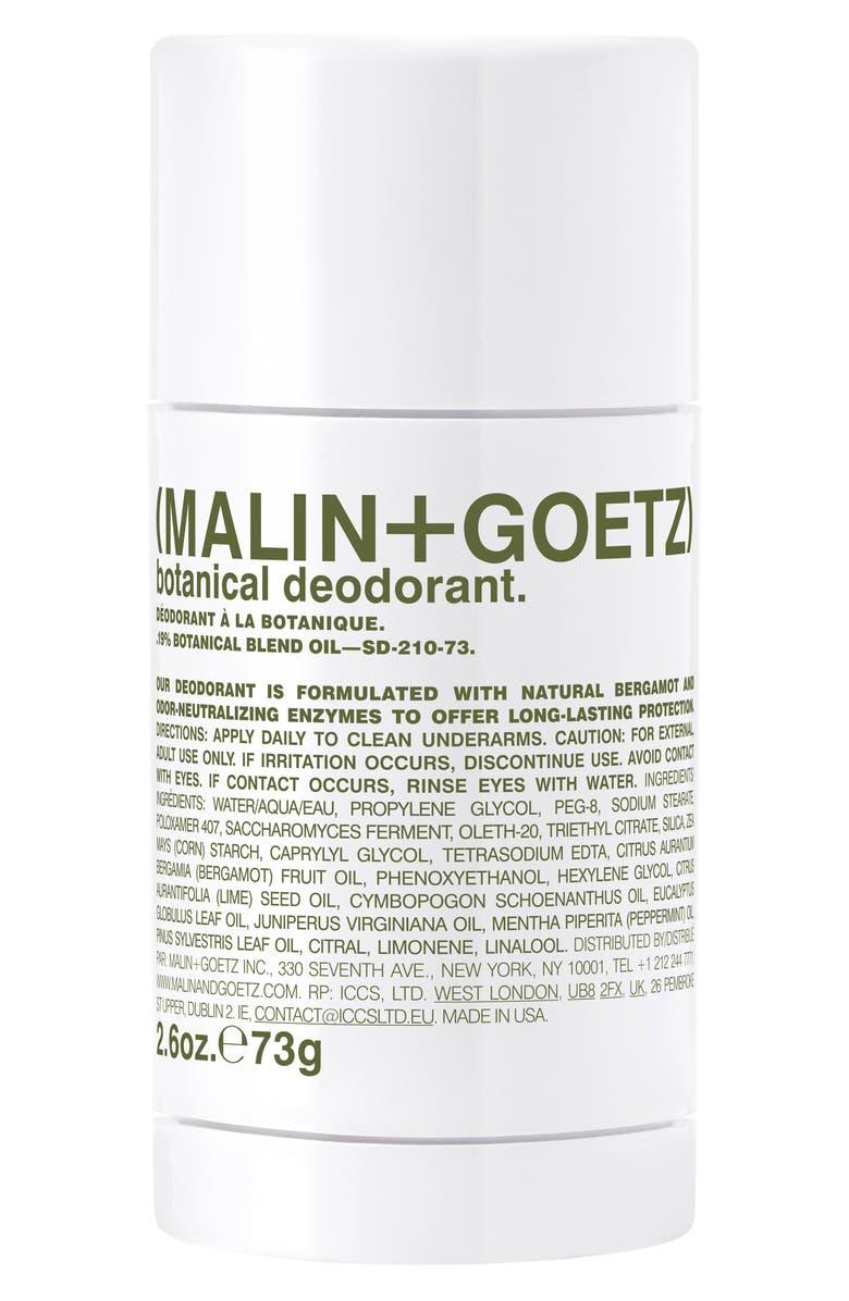 MALIN+GOETZ Botanical Deodorant, Main, color, NO COLOR