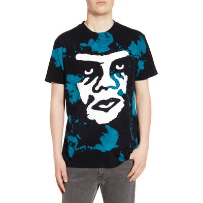 Obey The Creeper Bleach T-Shirt, Black