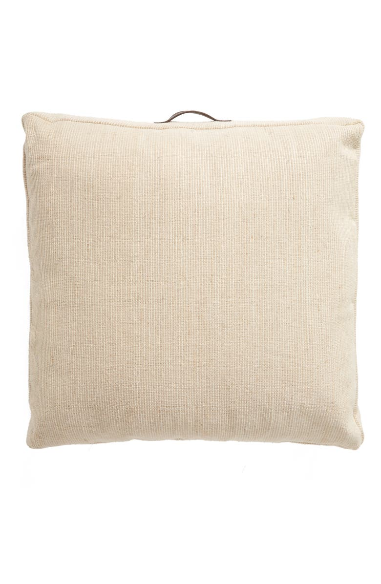TREASURE & BOND Outdoor Canvas Floor Pillow, Main, color, 250