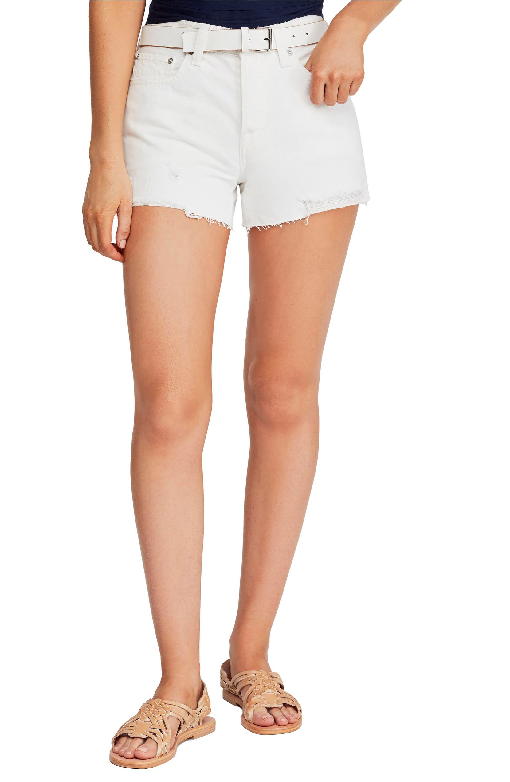 357aedeb17 Free People Sofia Cutoff Denim Shorts | Nordstrom