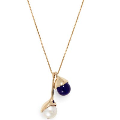 Faris Freshwater Pearl Pendant Necklace