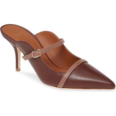 Malone Souliers Melody Double Band Mule, Brown