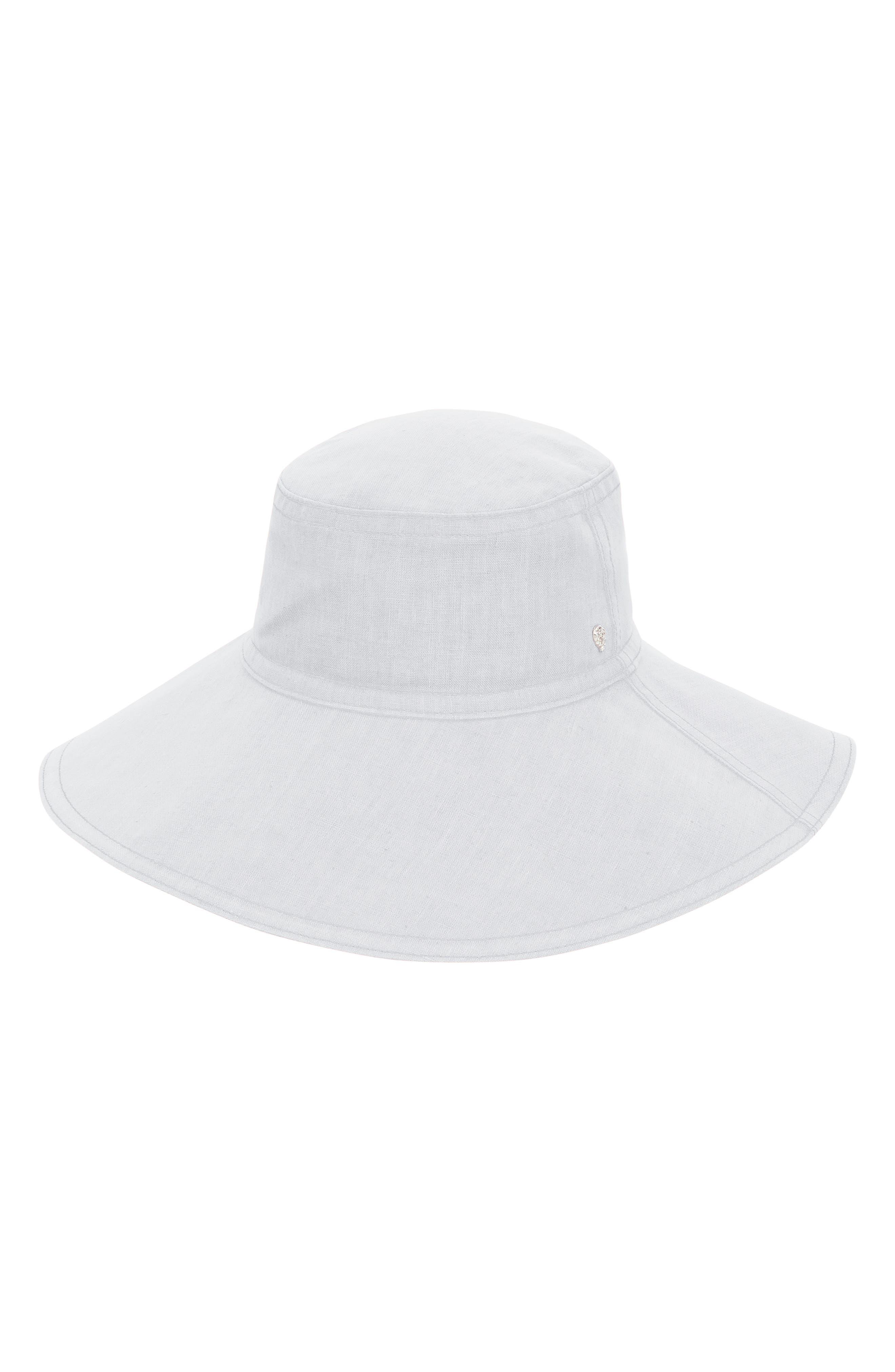 Packable Wide Brim Linen Hat