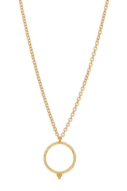 Image of Gurhan 22K Gold Geometric Pendant Necklace