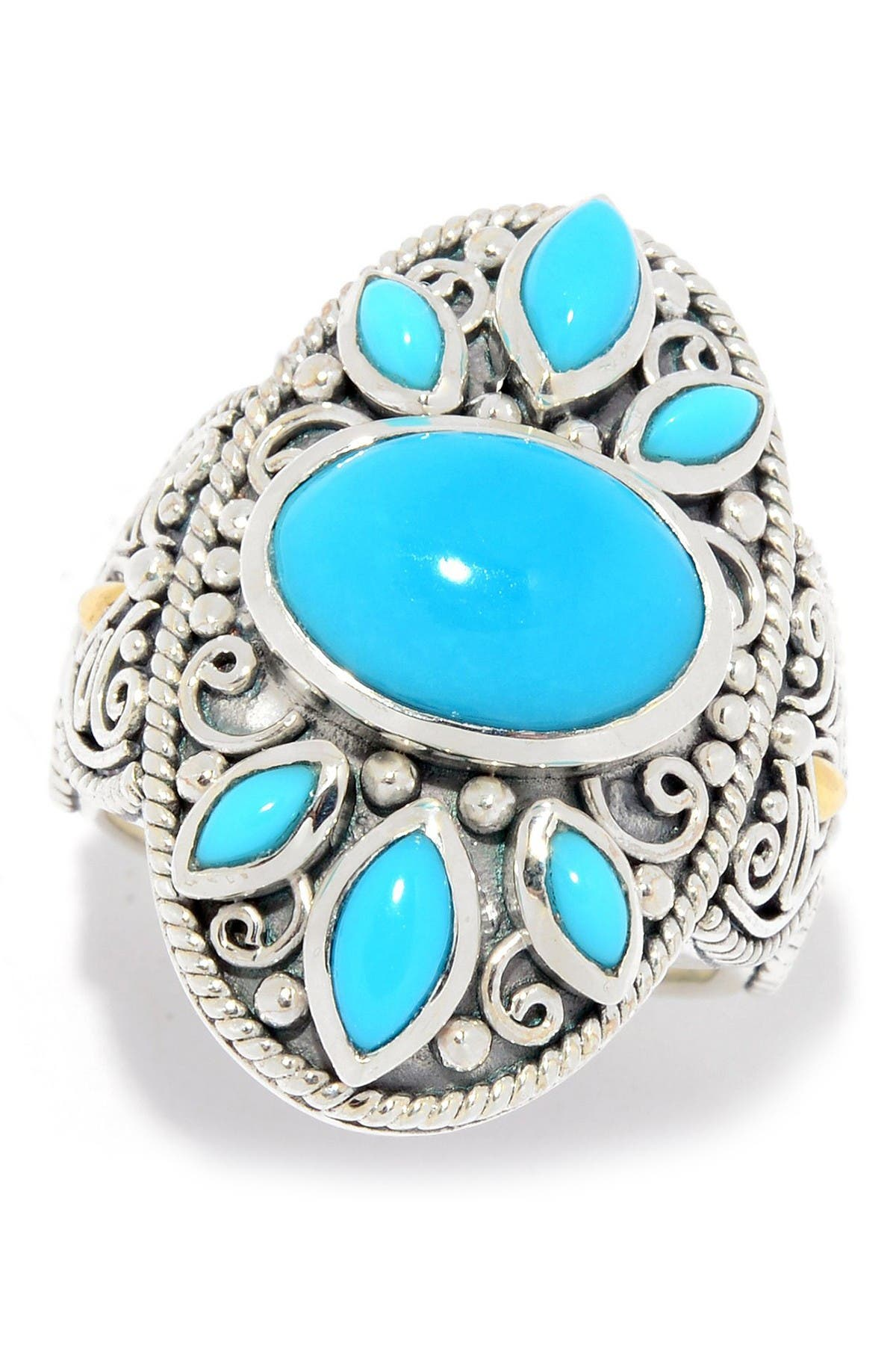 Forever Free Sterling and Turquoise Ring