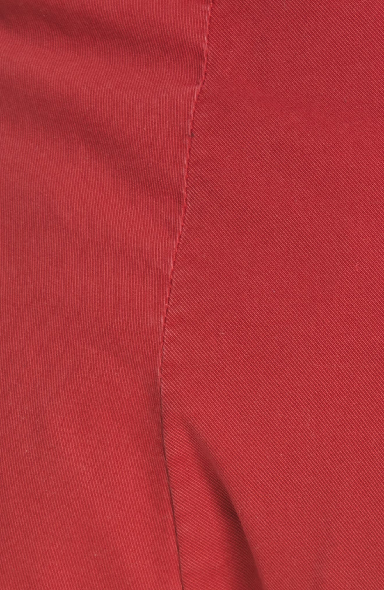 ,                             Paris Pants,                             Alternate thumbnail 6, color,                             SUNKISSED RED
