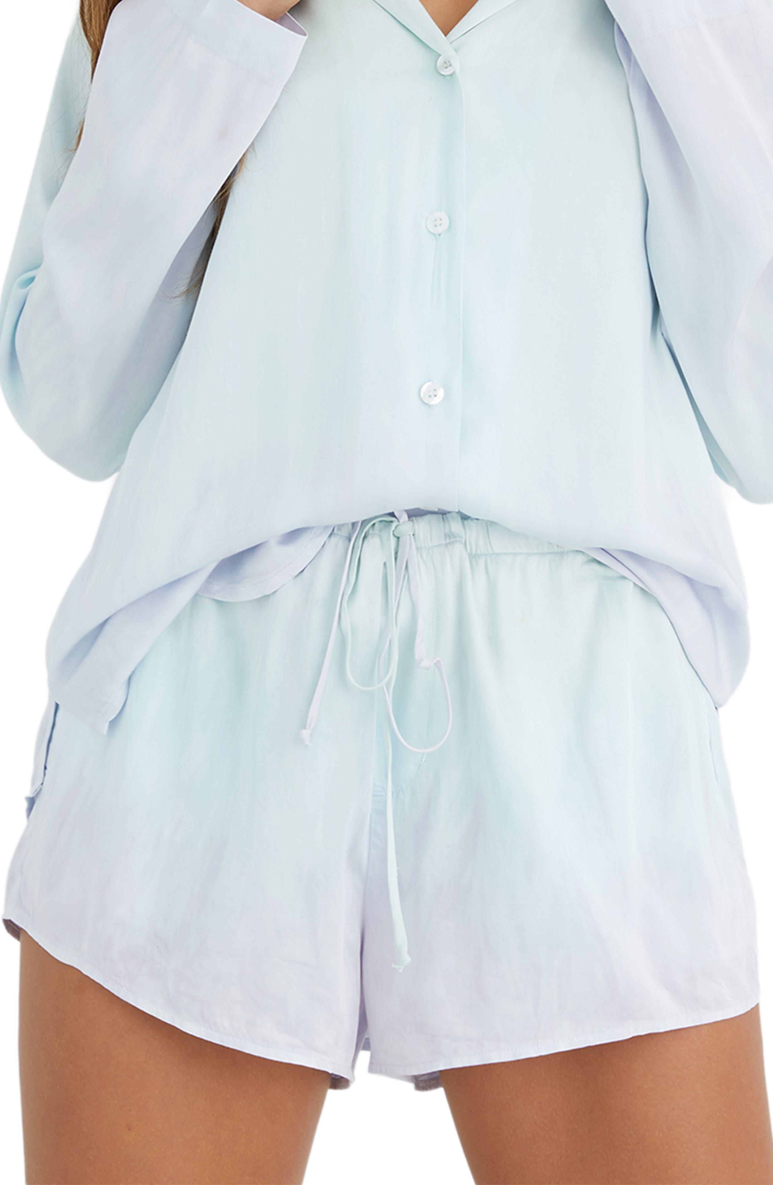 Flowy Drawstring Shorts