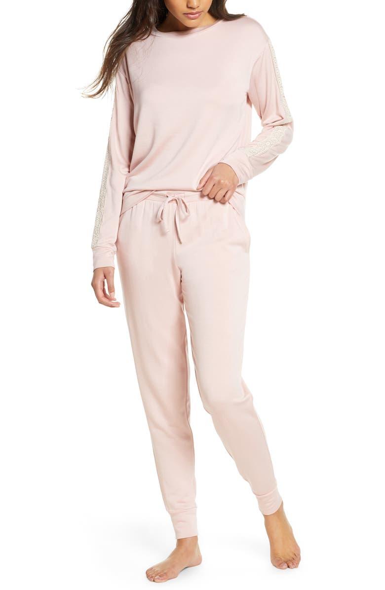 FLORA NIKROOZ Lotus Pajamas, Main, color, CLAY