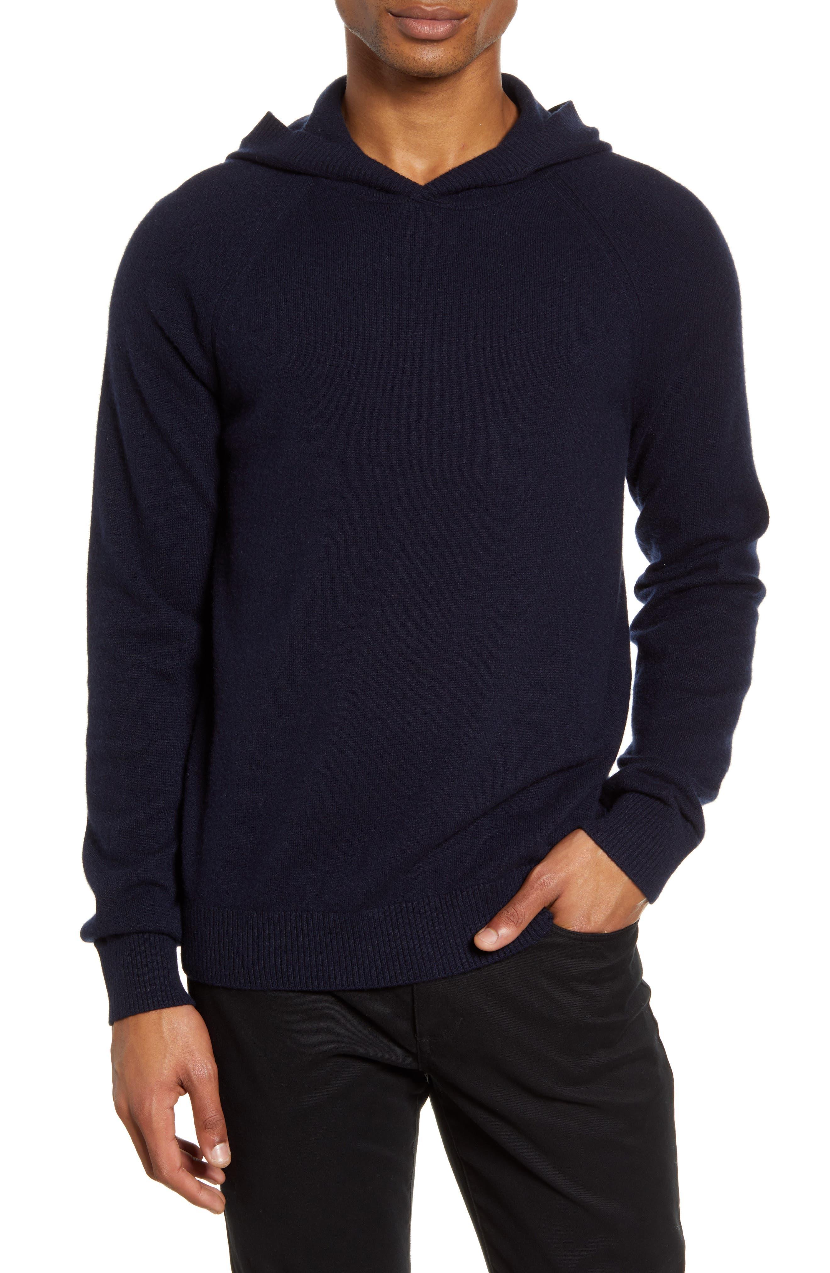 Men's Vince Wool & Cashmere Hooded Sweatshirt