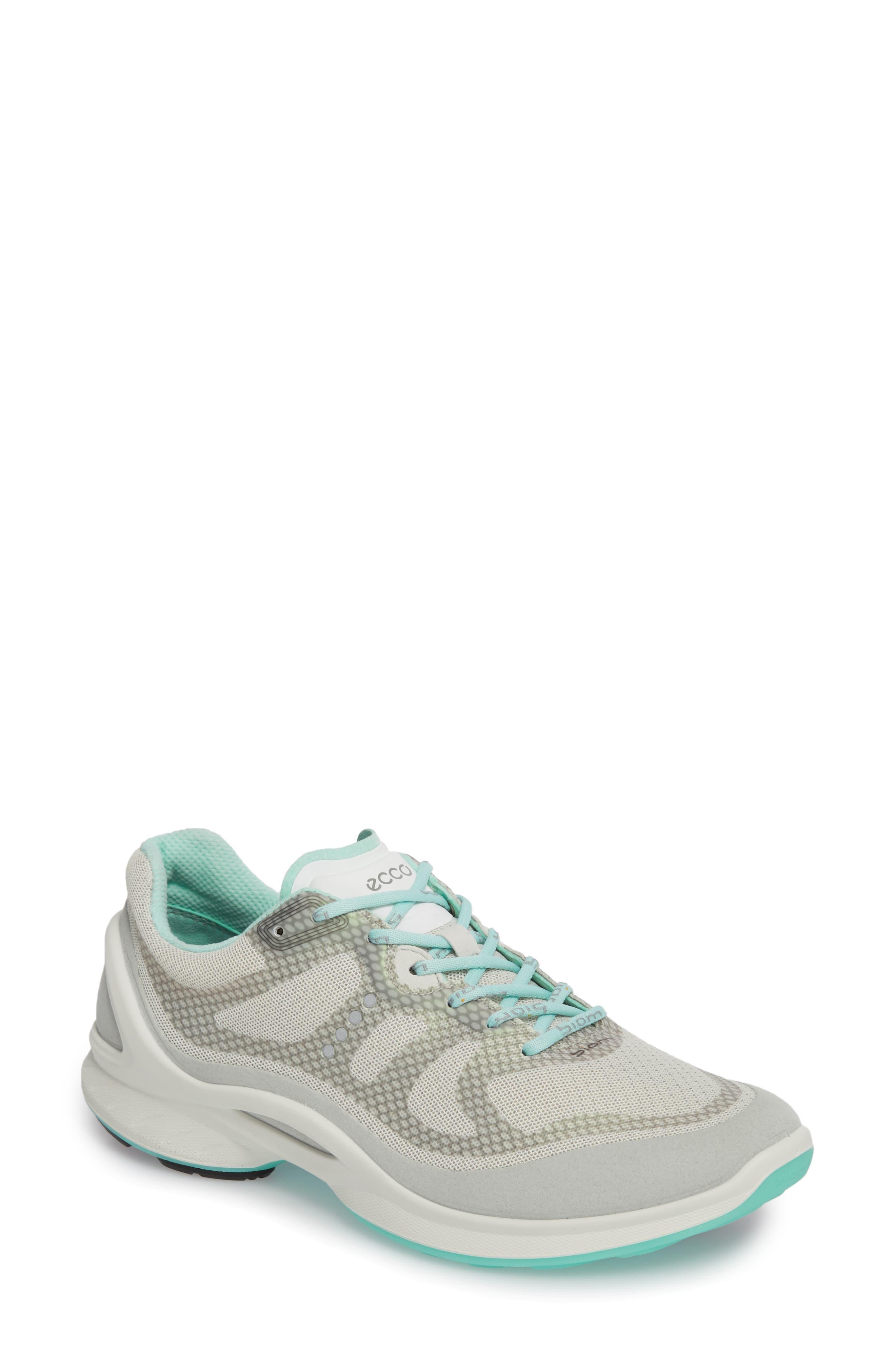 Ecco Biom Fjuel Tie Sneaker, White