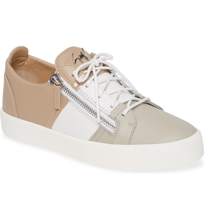 GIUSEPPE ZANOTTI Low Top Sneaker, Main, color, 075