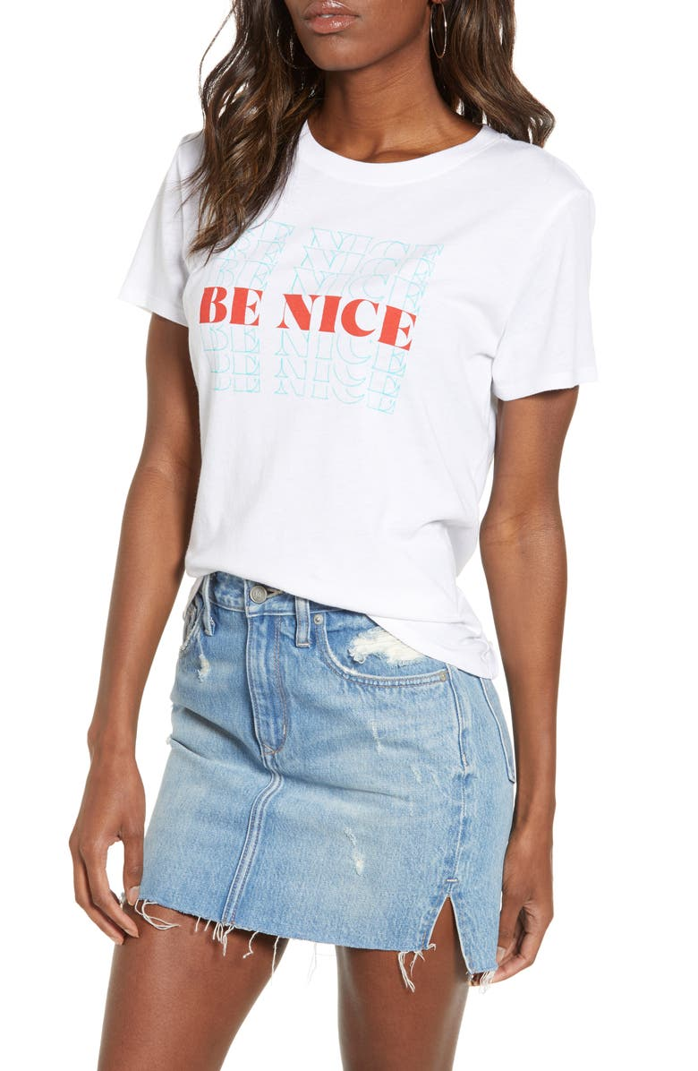 Be Nice Graphic Tee by Sub Urban Riot