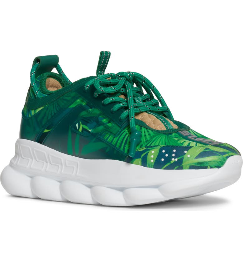 VERSACE Jungle Chain Reaction Sneaker, Main, color, 399
