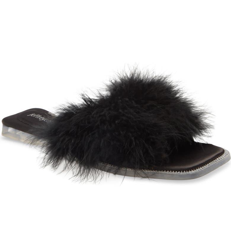 JEFFREY CAMPBELL Crush On U Slide Sandal, Main, color, 012