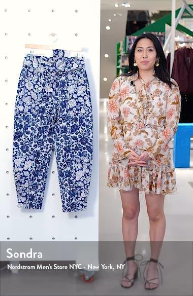 Floral Print Storm Jeans, sales video thumbnail