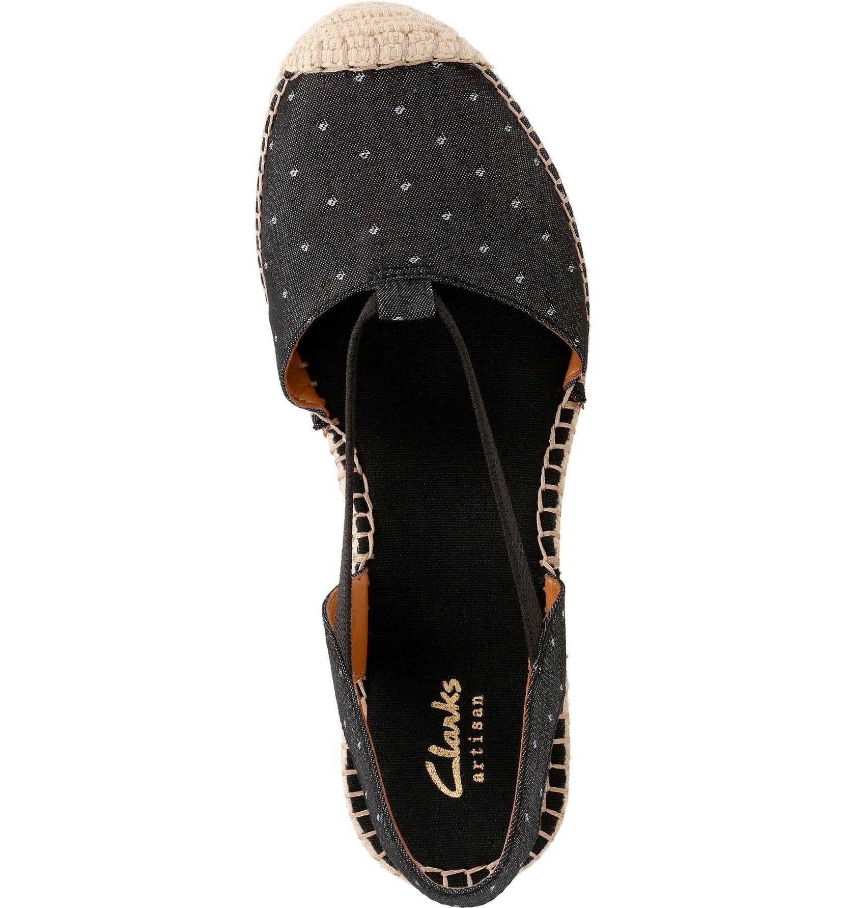 Clarks Women's Petrina Kaelie Espadrille Wedge Sandal