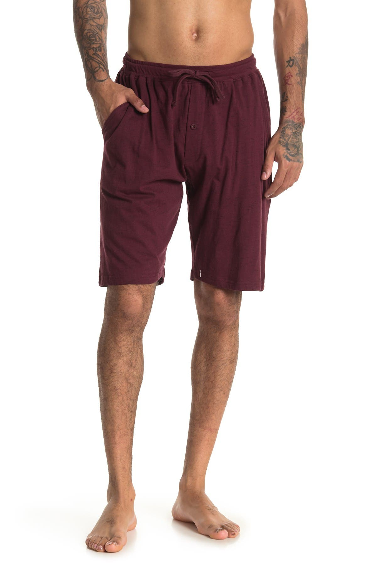 Image of Unsimply Stitched Relaxed Lounge Shorts