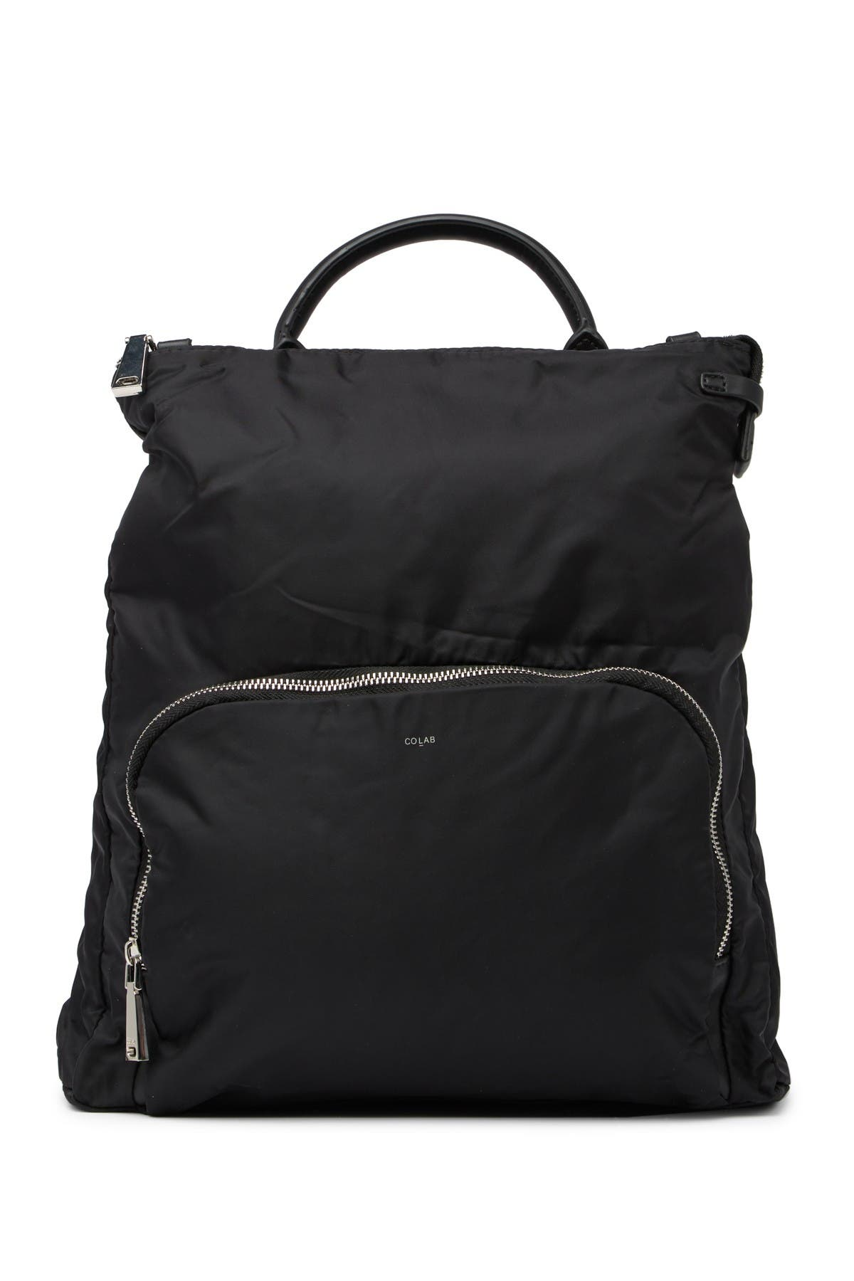 Image of Co-Lab Nylon Convertible Messenger Backpack