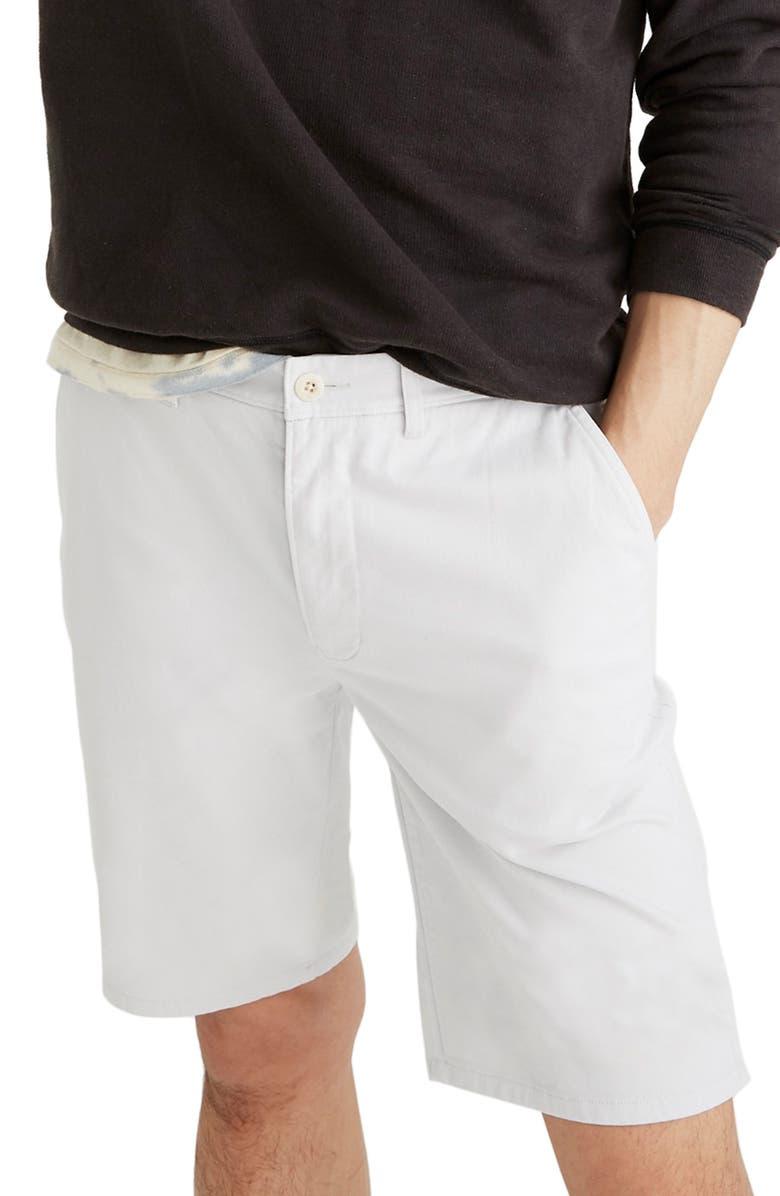 MADEWELL Chino Shorts, Main, color, 020