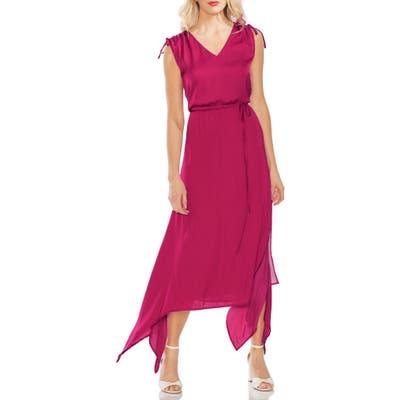 Vince Camuto Handkerchief Hem Dress, Pink